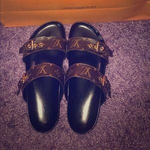 a299df7b556 Women s Used Louis Vuitton Sandals on Poshmark